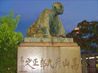 Скульптура самурая