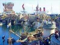 Галеон парусный корабль XVI века