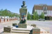 Памятник. Шымширин Ногай.