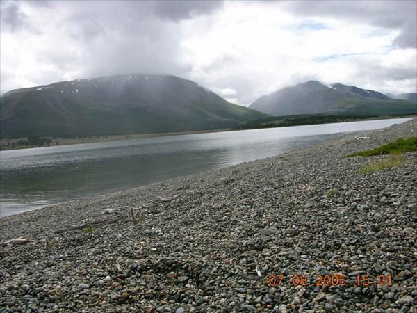 Северный берег Хотон-Нур.