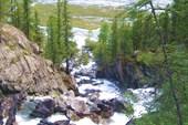 каскад водопадов Иолдо