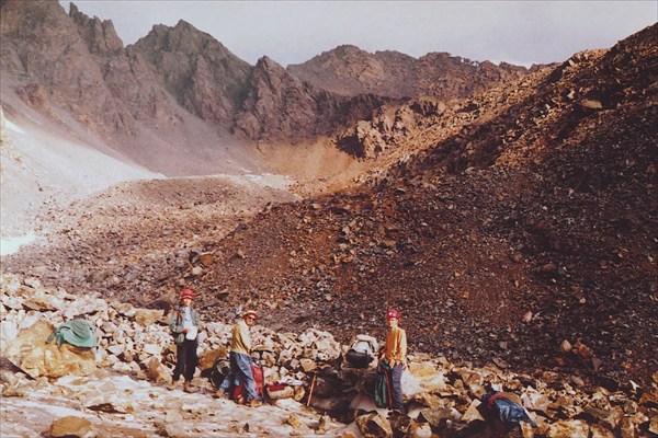 Путь на перевал Теплофизиков