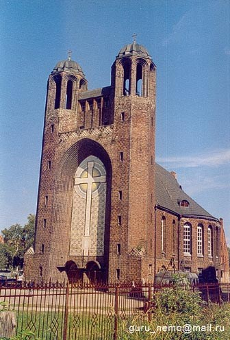 Кирха Креста, Калининград.
