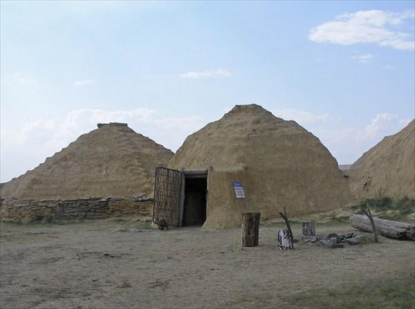 Жилища древних людей