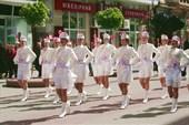 Парад жителей на День города