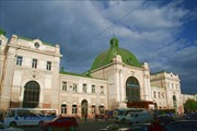 Вокзал в Ивано-Франковске