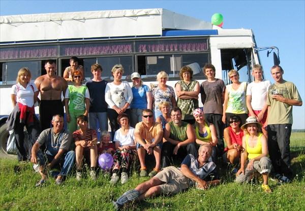 наша группа Кия июль  2010