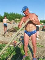 строительство походной бани
