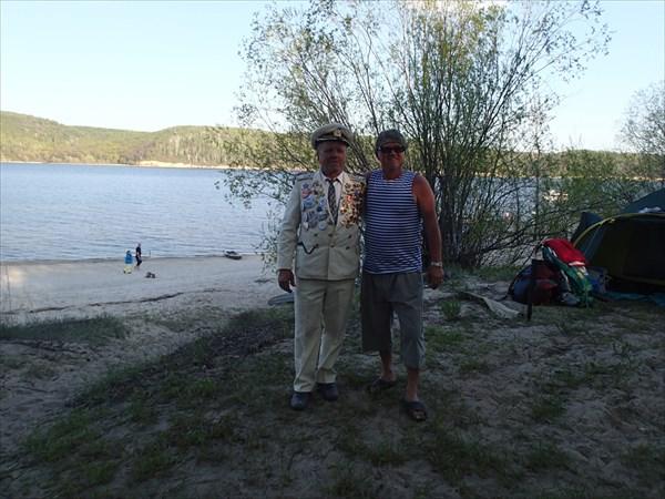 Кругосветчики дальнобойщики: Н.Шестерин и Л.Малыгин