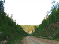 Спуск в ущелье р.Иргизла