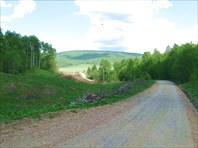 Участок дороги Гадельгареево - Старосубхангулово