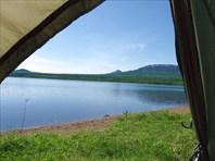 Вид из палатки :)