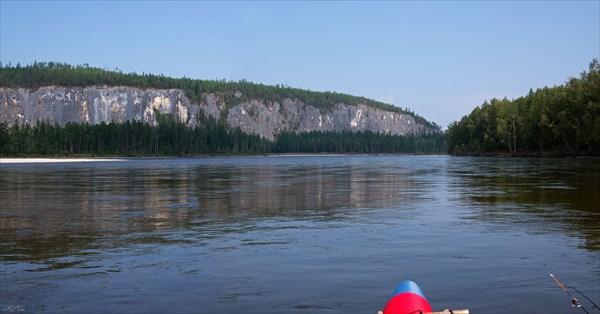 Скалы перед притоком Бульджиней