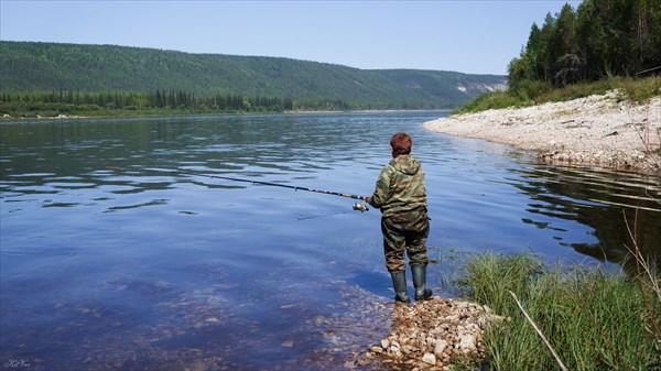 Рыбалка на ельца