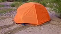 Палатка на песке