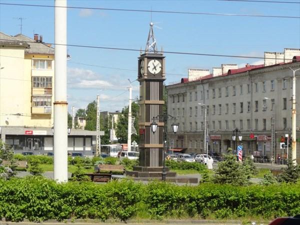 Часы в Петрозаводске.