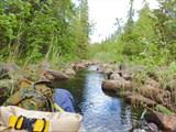 Канал в оз.Яголомба