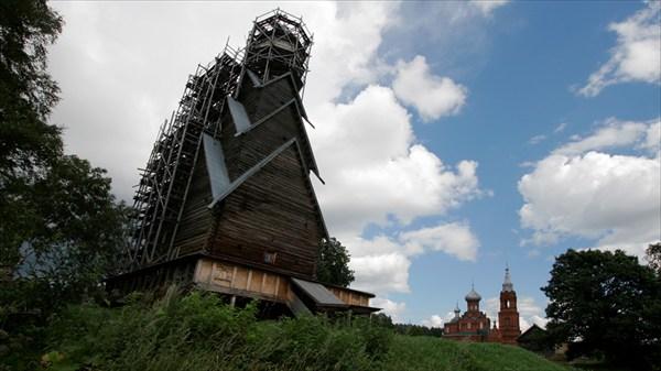 Деревянная церковь в Ширково