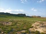 Скальные останцы у озера Айыр