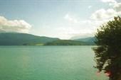Озеро по дороге к Альпам