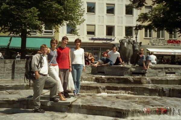 Жаркий Мюнхен