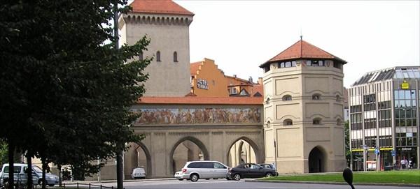 Ворота в Мюнхен