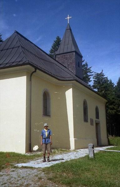 Самая высокогорная церковь Баварии