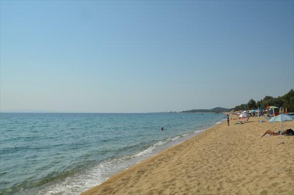 Toroni большой пляж