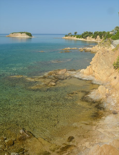 Вид рядом с пляжем Agios Ioannis