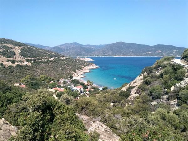 Вид на пляж Klimataria