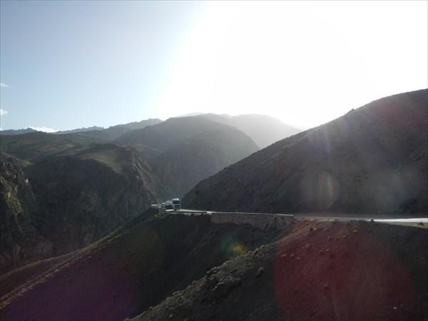 Подъем на перевал Тизи-н Тичка