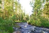 Одна из рек недалеко от Чупы
