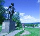 Переславль Залесский. Памятник Петру I