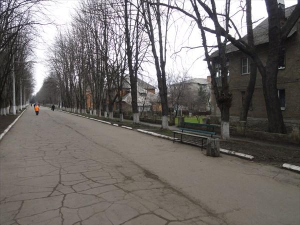 Пешеходная улица в Старом городе