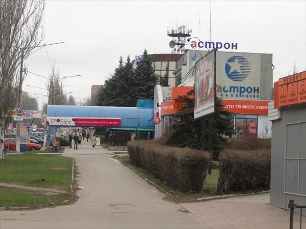 Торговые кварталы Краматорска