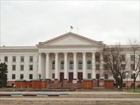Соцгород. Главная площадь областного центра-город Краматорск