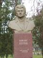 Памятник актеру Быкову - уроженцу этих мест