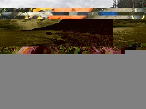 Каменистый берег.