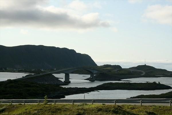 Мосты и дорога на Fredvang