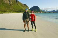Макс и Алёна на пляже Ramberg