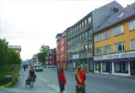 Улица в центральной части Нарвика