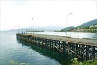 Пирс в лодочном порту
