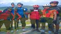 Отражения кривых велосипедистов