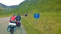 Въезд в Sigerfjordtunnelen