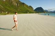 Вася пошел купаться в Норвежское море