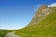 Склон горы около дороги Fv862 недалеко от Klavnes