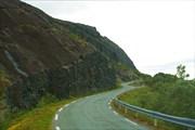 Fv885. Скалистые берега Eidsfjord'а