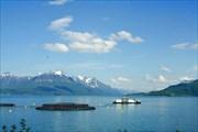 Рыбная ферма за Grovfjord'ом