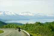 Спуск к Ofotfjorden