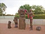 Австралийский военный мемориал, скульптура `Возвышение чувств`